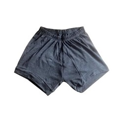 Yoga Shorts - Iyengar Type ( Plain Grey )
