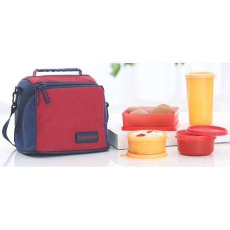 TP-860-T187 Tupperware Premier Lunch (Including Bag) With Two Bowls