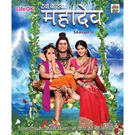 Devon Ke Dev Mahadev Season 2  Dvd Hindi Set