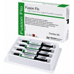 Prevest Denpro Fusion Flo Dental Light Cured Nano Hybird Flowable Composite
