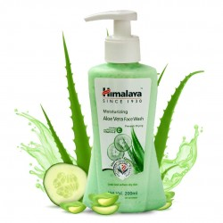Himalaya Moisturizing Aloe Vera Face Wash 200ml