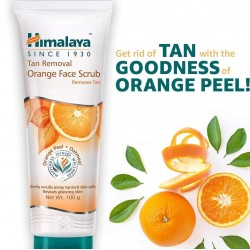 Himalaya Tan Removal Orange Face Scrub 100g