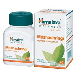 Himalaya Wellness Pure Herbs Meshashringi Metabolic Wellness - 60 Tablet