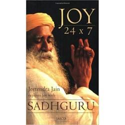 Joy 24 x 7 Paperback Book By Sadhguru
