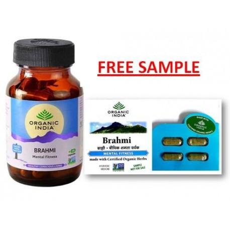 Organic India Brahmi 60 Vege Caps of 350mg