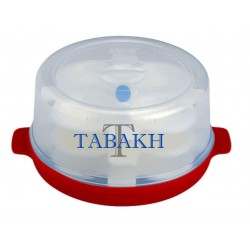 Tabakh Prime 3-Rack Microwave Idly Maker