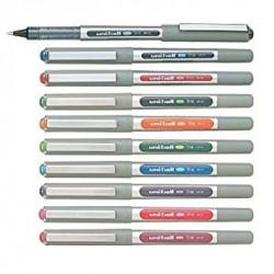 Uni-Ball EYE UB-157 Rollerball Pen Medium 0.7mm Ball [Pack of 10] One of each colour