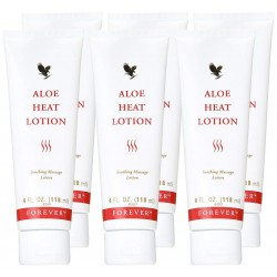Forever Living Aloe Heat Lotion (6 Pack)