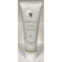 Forever aloe vera face scrub made with natural aloe vera (99g)