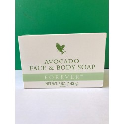 Forever aloe vera avocado soap which make your skin clean and spread fresh smell (142g)