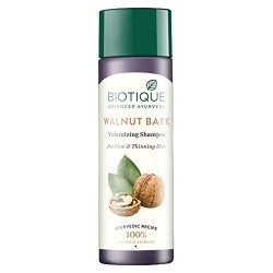 Biotique Bio Walnut Bark Fresh Lift Body Building Shampoo 190ml