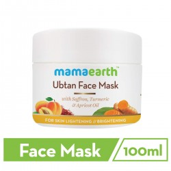 Mamaearth Ubtan Face Pack Mask for Fairness 100ml