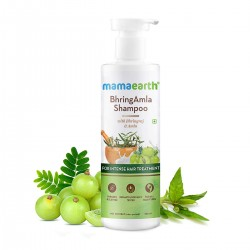 Mamaearth BhringAmla Shampoo for dry & frizzy hair 250ml