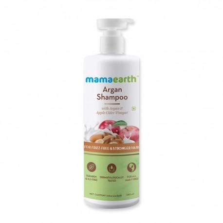 Mamaearth Argan & Apple Cider Vinegar Shampoo 250ml