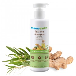Mamaearth Tea Tree Anti Dandruff Shampoo  250ml
