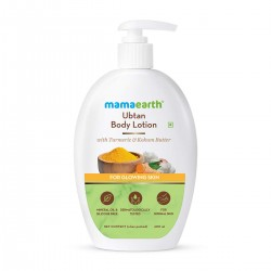 Mamaearth Ubtan Body Lotion with Turmeric & Kokum Butter 400ml