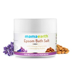 Mamaearth Epsom Bath Salt for Relaxation and Pain Relief 200gm