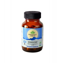 Organic India Bowelcare 60 Capsules Bottle Pack Of 1