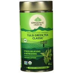 Organic India Classic Tulsi Green Tea 100gm