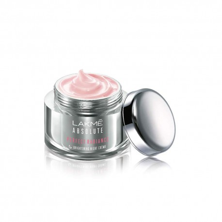 Lakme Absolute Perfect Radiance Skin lightening/Brightening Night Creme 50gm