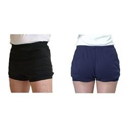 Yoga Shorts - Iyengar Type - L Size (Black)