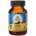 Organic India Turmeric Formula Healthy Inflammation Response Pure Safe & Effective - 60 Capsules