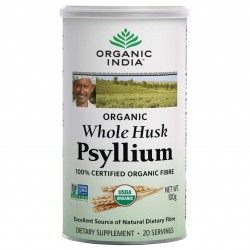 Organic India Psyllium Whole Husk 200 gms (100x2)