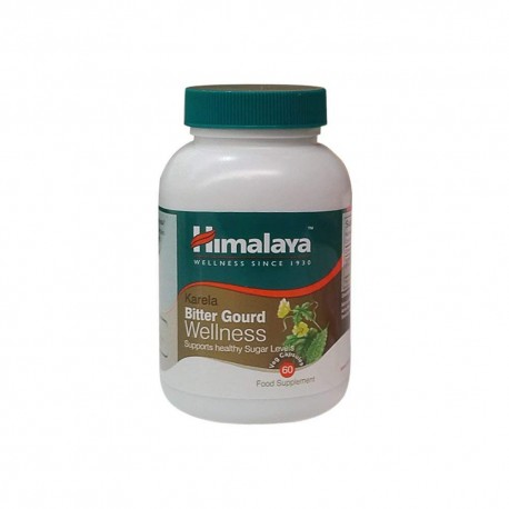 Himalaya Karela Bitter Gourd All Natural Glucose Metabolism Support for Balanced Blood Sugar Level