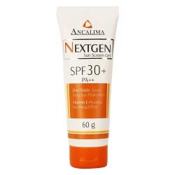 ANCALIMA Nextgen Sun Screen Gel SPF 30+ 60gm Triple Action Sun Protector