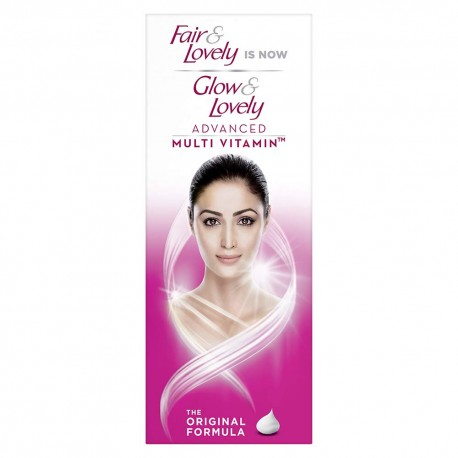 Glow & Lovely Advanced Multivitamin Face Cream, For Daily Use, Fades Dark Spots, Lighten Skin For Glowing, Matte Finish, 80 g