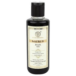 Khadi Natural Herbal Ayurvedic Amla Hair Oil (210 ml)