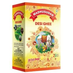 Madhusudan Pure Vegetarian Desi Ghee 1000ml