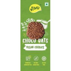 Kivu Choco Oats Vegan Gluten Free Cookies (Pack of 2) (300g)