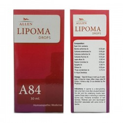 Allen A84 Lipoma Drops 30 ml Pack Of 3