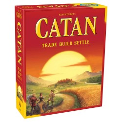 Catan : Trade Build Settle Board Game, Card Game Family Game, 3-4 Players