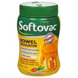 Lupin Softovec Bowel Regulator Powder 100g (Pack of 5)