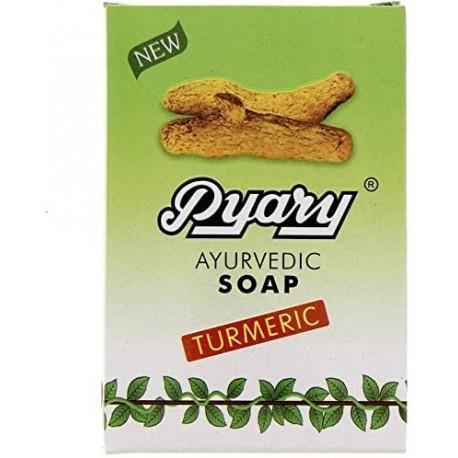 Gaity Agro Pyary Ayurvedic Turmeric Soap 75 Gm( Pack Of 3)