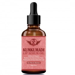 7 Fox Kumkumadi Lip Serum Oil for Lip Lightening & for Damaged Lips, 30ml