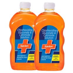 Savlon Antiseptic Disinfectant Liquid for First Aid, Personal Hygiene, and Home Hygiene - 500ml (Pack of 2)