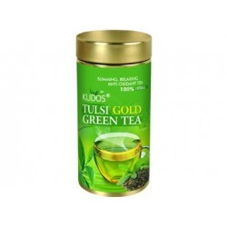 Kudos Tulsi Gold Green Tea (Green, 100g)