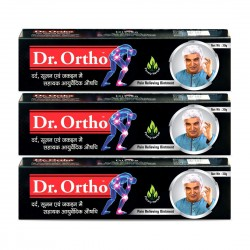 Dr Ortho Ayurvedic Pain Relieving Ointment - 30 g (Pack of 3)