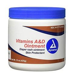 Dynarex Vitamins A & D Ointment Jar 425gm