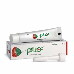 Charak Pharma Pilief Ointment - 20 g (Pack of 3)