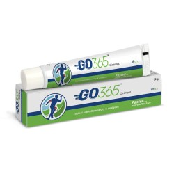Charak GO365 Ointment For Joint Pain, Muscular Pain With Eucalyptus & Deodar Oil (Pack of 2)30gm