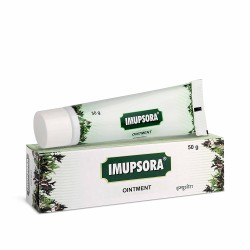 Charak Pharma Imupsora Ointment to manage itching, scaling in psoriasis  50 gms (Pack of 3)