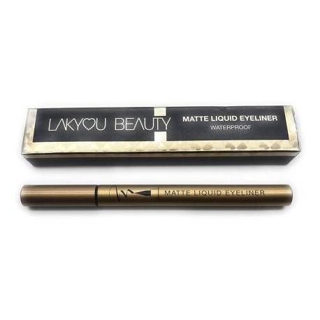 lakyou beauty Waterproof Pen Eyeliner Black 10 g  ( Pack Of 2)