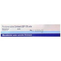 Povidone Iodine Betadine Ointment 20gm pack of 2