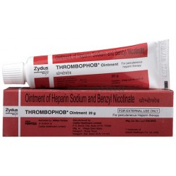 Benzyl Nicotinate  Heparin Thrombophob Ointment 20gm Pack of 3