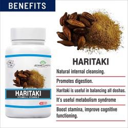 JEEVAN JYOTI AYURVEDA Haritaki Single Herb Capsules - 60 Capsules
