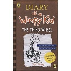 Diary of a Wimpy Kid - 7: The Third Wheel  Book